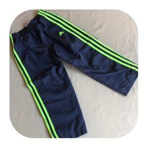Adidas wind pants boys size 5